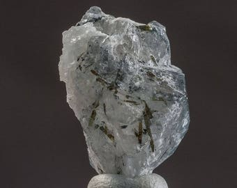 Tourmalinated Quartz Crystal