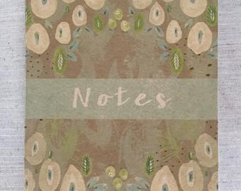 Rustic Fauna Plain Notebook
