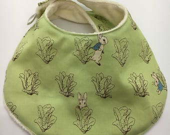 Dribble bib  peter rabbit baby gift drool bib adjustable