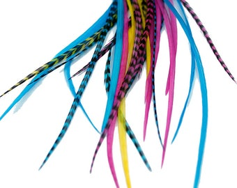 Real Feather Hair Extensions : Candy