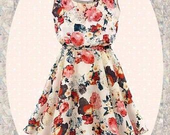 "Dress/tunic ""Flower Madl"""