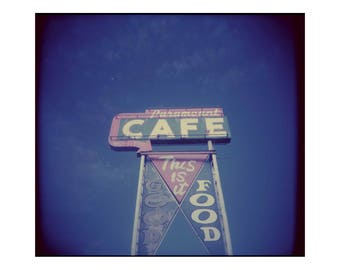 Cafe Sign, New Mexico