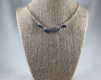 Lapis 5-drop Necklace