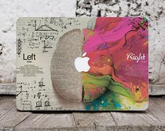 Brain Macbook Computer Decal Macbook Decal Art Vinyl Sticker Macbook Pro Stickers Macbook Cover Laptop Stickers Macbook Pro 13 Decal SK3050