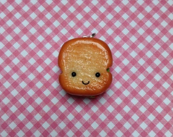 Kawaii Polymer Clay Sandwich Charm