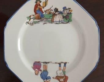 Vintage Children's Plate