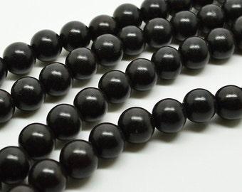 108pc  10mm  Black  African  Ebony  Tibetan prayer  mala bead