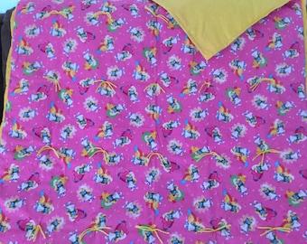 Smurfette blanket