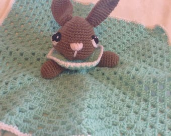 Rabbit Lovey, Rabbit Security Blanket