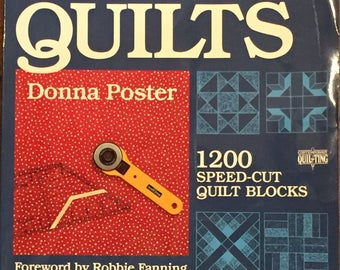 Speed-Cut Quilts by Donna Poster