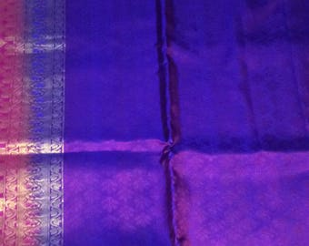 Kanchivaram jaquard silk saree