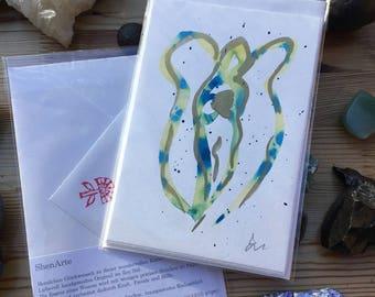 Shen Engel Folding Card
