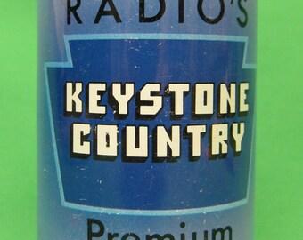 WFBG Radio's Keystone Country Premium Beer Can ---EMPTY