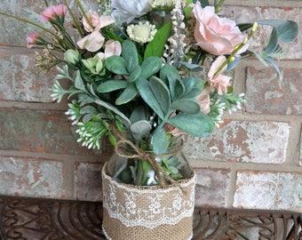 Mason Jar Centerpieces