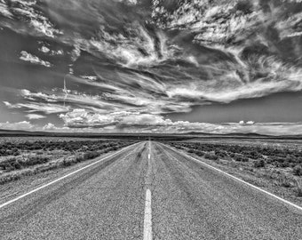 Highway 64 to Taos, New Mexico