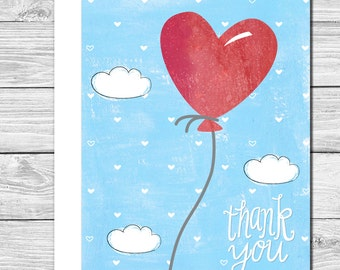 Thank you Notes--Sending my love--512S