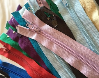 Separating Zippers YKK- Zippers Bulk- Wholesale 25 in package