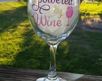 Princess wine glass/Funny wine glass / wine glass/ funny princess wine glasses/ personalized wine glasses/ custom wine glasses/ Gift friend
