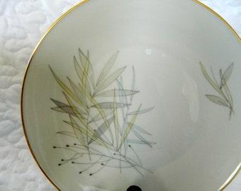 Rosenthal Grasses dinner plate- Vintage German China & Rosenthal china | Etsy
