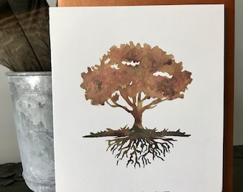 Father's Day Card, Dad, Tree of Life