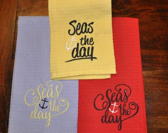 Seas the Day Towel