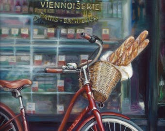 Paris Patisserie Giclee