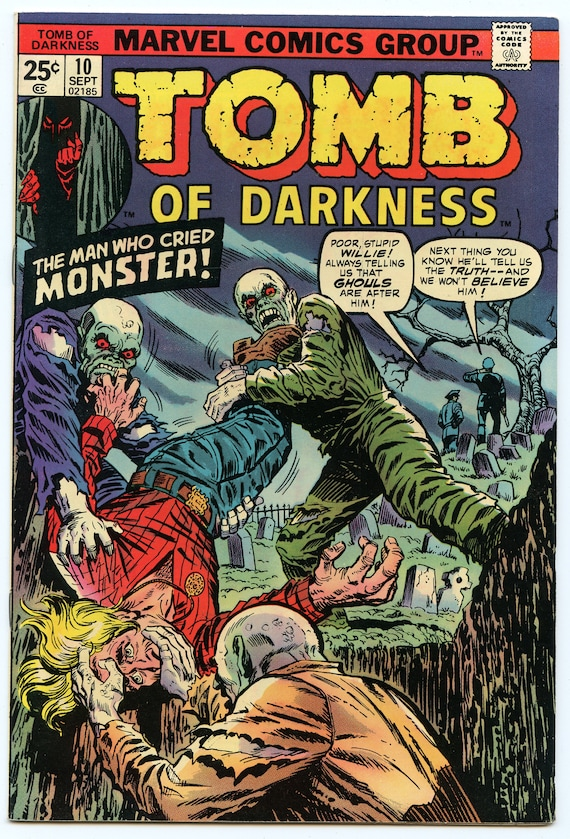 Tomb of Darkness 10 Sep 1974 VF-NM (9.0)