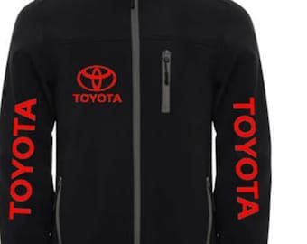 TOYOTA Stylish Soft Shell Jacket Wind And Water Resistant