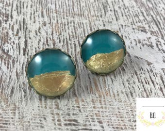 Teal gold 16mm