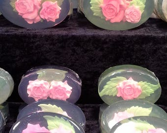 Rose Art Soap