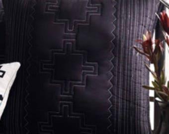 Ralph Lauren Adobe Black/White Standard Sham