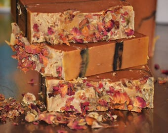 Red Wine & Chocolate Soap