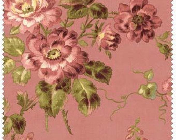 Penny Rose Riley Blake cotton fabric - Isabella Main PR4690 Coral