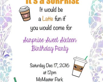 Latte Surprise Party