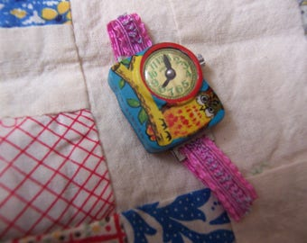 little tin toy watch novelty toy