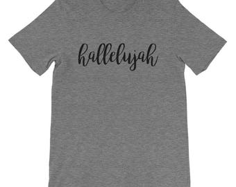 Hallelujah Tee | Hallelujah Tee | Hallelujah | Christian Gifts | Christian T Shirts | Christian Shirts | Christian Gifts for Women | Bella C