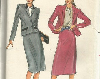 Butterick 6976 Skirt, and Jacket Pattern  SZ 16   CLEARANCE ITEM