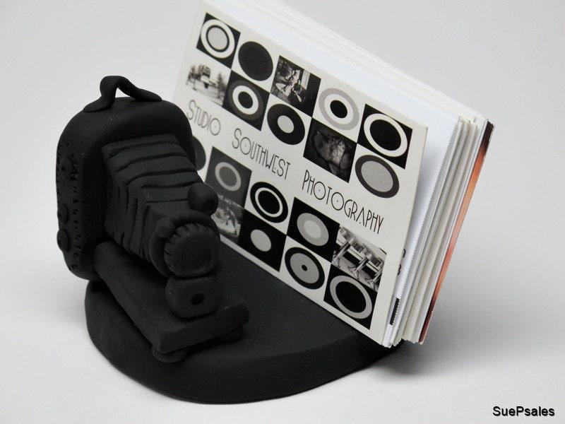 Photographers Business Card Holder Card Holder Business Card