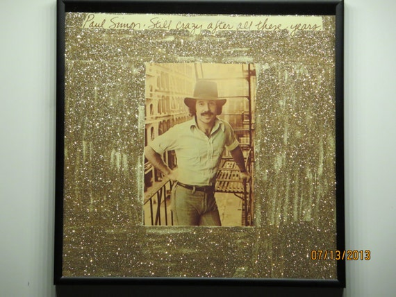 Glittered Record Album - Paul Simon - Still Crazy After All These Years