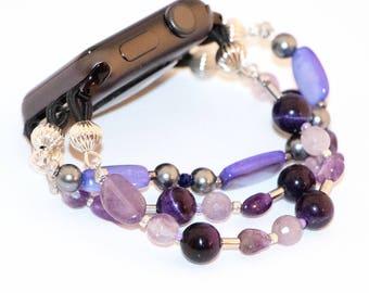 Purple Haze - Apple Watch Band 38mm for Women - iWatch Strap Purple