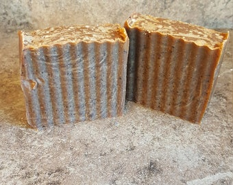 Espresso Soap, Coffee Soap, Exfoliating Soap, Caffeine Extract Soap, Cold Process Soap, Handmade Soap, Moisturizing Soap, Coffee Lover Gift