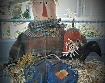 Hayride Scarecrow - Pattern Only