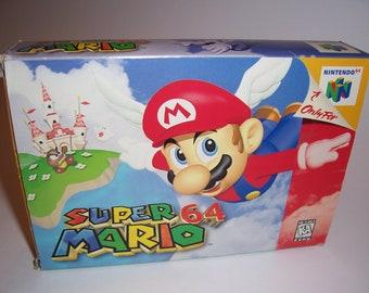 Super Mario 64 N64 Nintendo 64 USA CIB (Mint, Amazing condition)