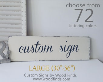 Wooden Custom Sign, Create Your Own Sign, Wooden Sign, Custom wood signs with quotes, Wooden Signs, Housewarming Gift, Large