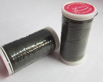 Thread gray 100% polyester 200 m