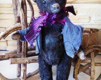 Artist teddy bear Ooak teddy bear Mohair teddy bear Plush teddy bear Vintage teddy Old teddy bear Antique teddy bear Stuffed animal teddy