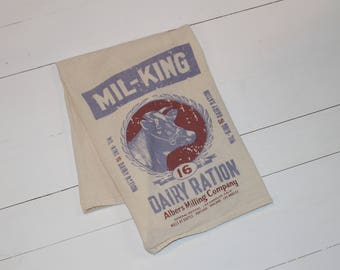 Mil-King Dairy Ration-Farmhouse Dish Towel