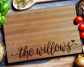 Mothers Day Gift Custom Cutting Board, personalized cutting Board (207)