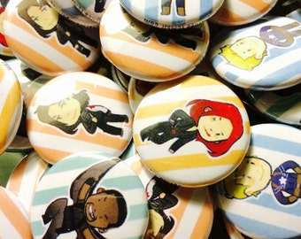Captain America Pins