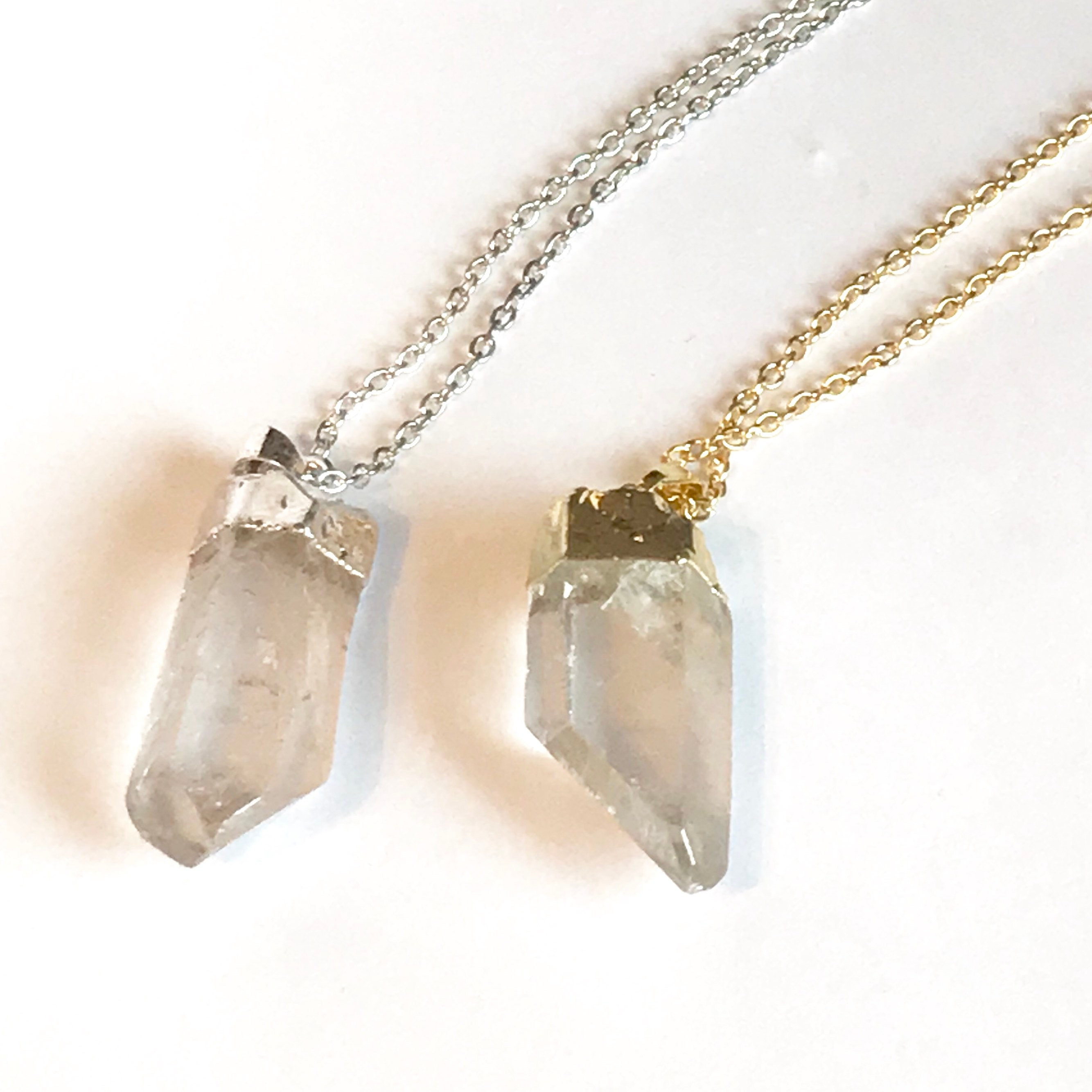 wrapped img clear emily jewelry sale products wire quartz crystal original thai necklace online